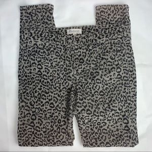 Madewell Cheetah Corduroy Pants